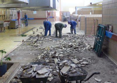 Amandelbult-Northen-Mine-Kitchen-Floor-Preparation